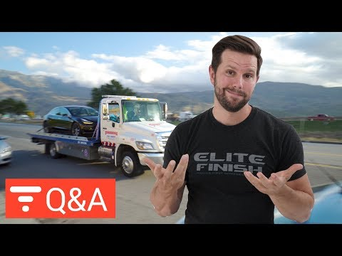 Do Aero Wheels Add Range to Tesla Model 3? Q&A from Apr 23 2018