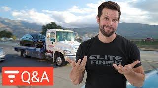 Do Aero Wheels Add Range to Tesla Model 3? Q&A from Apr 23 2018 [highlight]