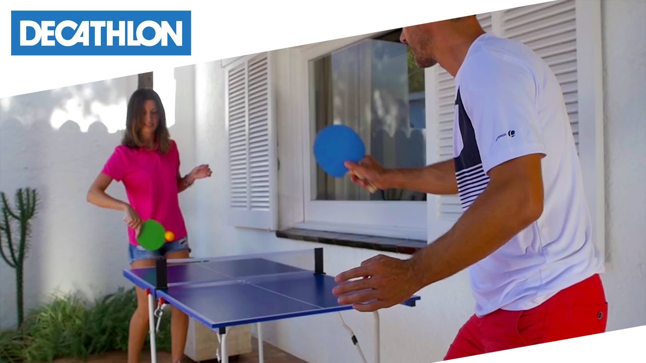 Tavolo da ping pong ft mini artengo decathlon italia youtube - Decathlon tavolo ping pong ...