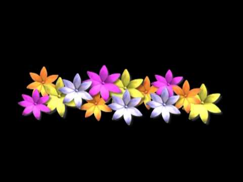flowers background Animated Backgrounds HD - Looping , Free video