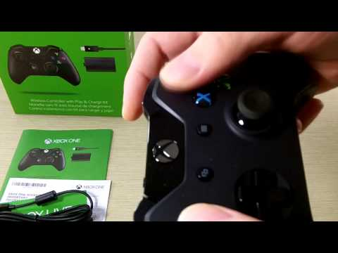 xbox-one-wireless-controller-&-play-and-charge-kit-unboxing