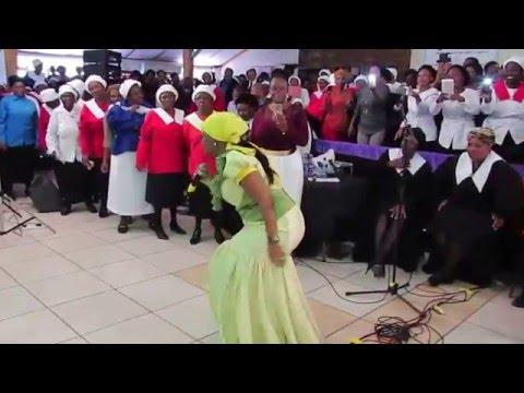 @MashabaWinnie performing in Welkom - 17 March 2016