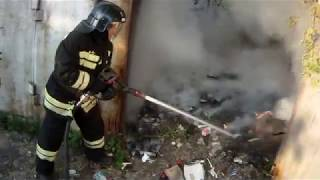 видео Гараж и техника безопасности