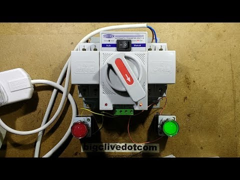 Automatic Generator Changeover Switch (with Schematic).