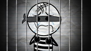 Pencil Boy Inside Prison! - Pencil Animation Cartoons for Kids