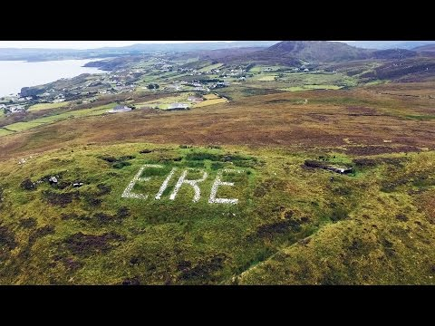 Look Out Post 81 and EIRE Sign Glengad Head Inishowen