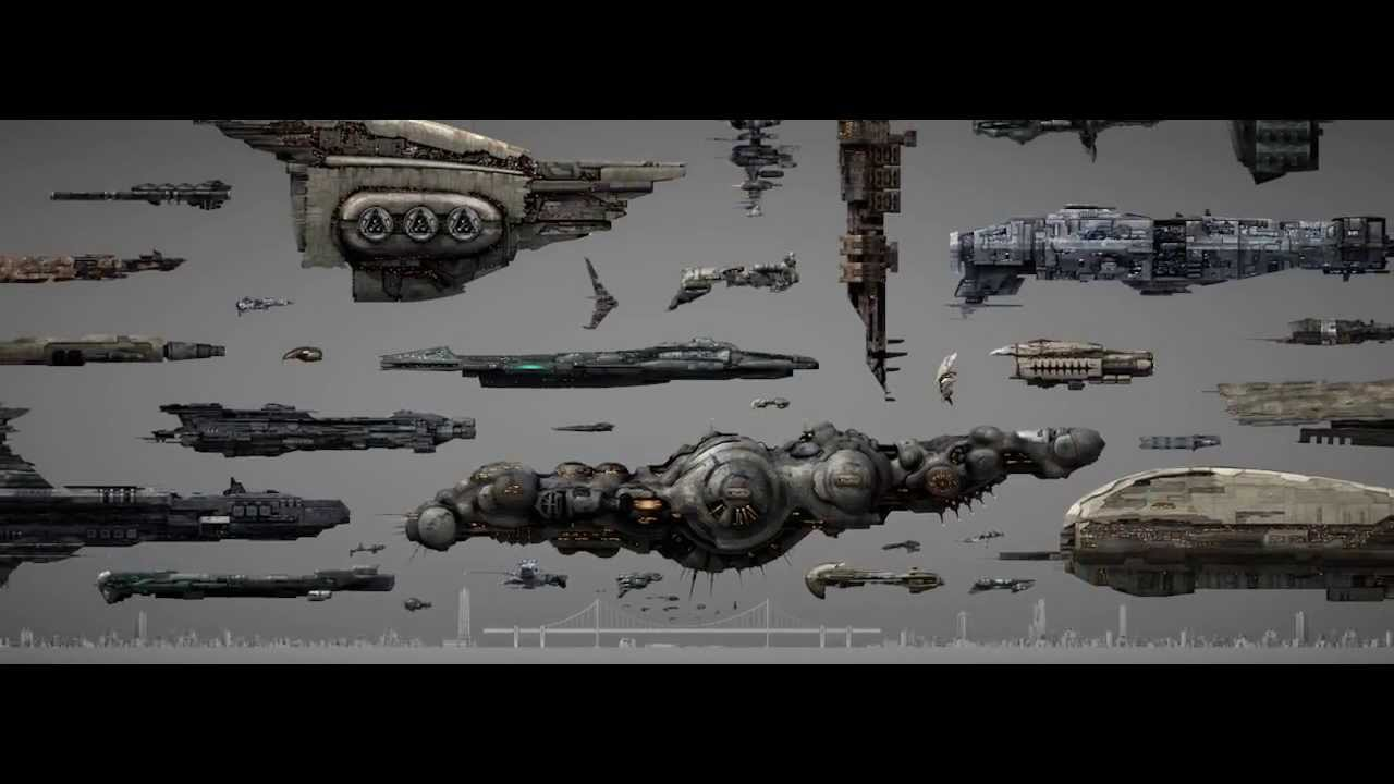 Eve Online • Shipsizevideo Scale Edit - YouTube