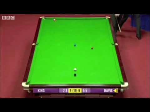 Steve Davis Beats Mark King WSC 2010