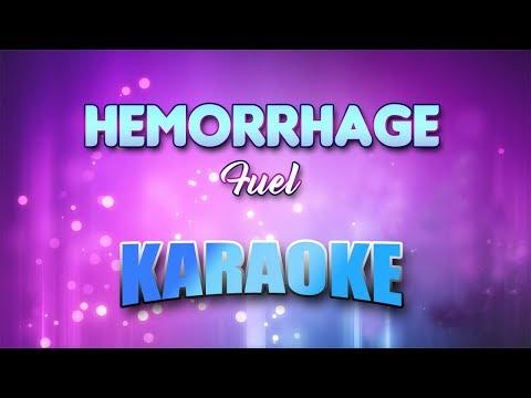 Fuel - Hemorrhage (In My Hands) (Karaoke version with Lyrics)