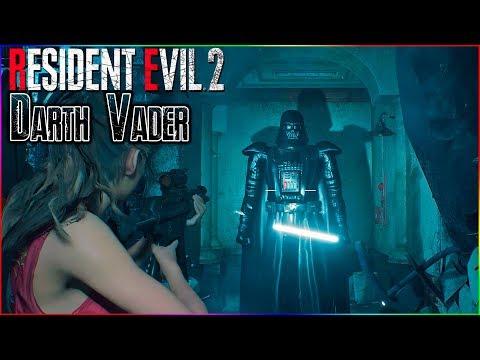 Resident Evil 2 Darth Vader