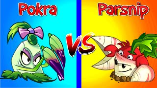 Plants vs Zombies 2 Pokra vs Parsnip NEW Plant vs Plant