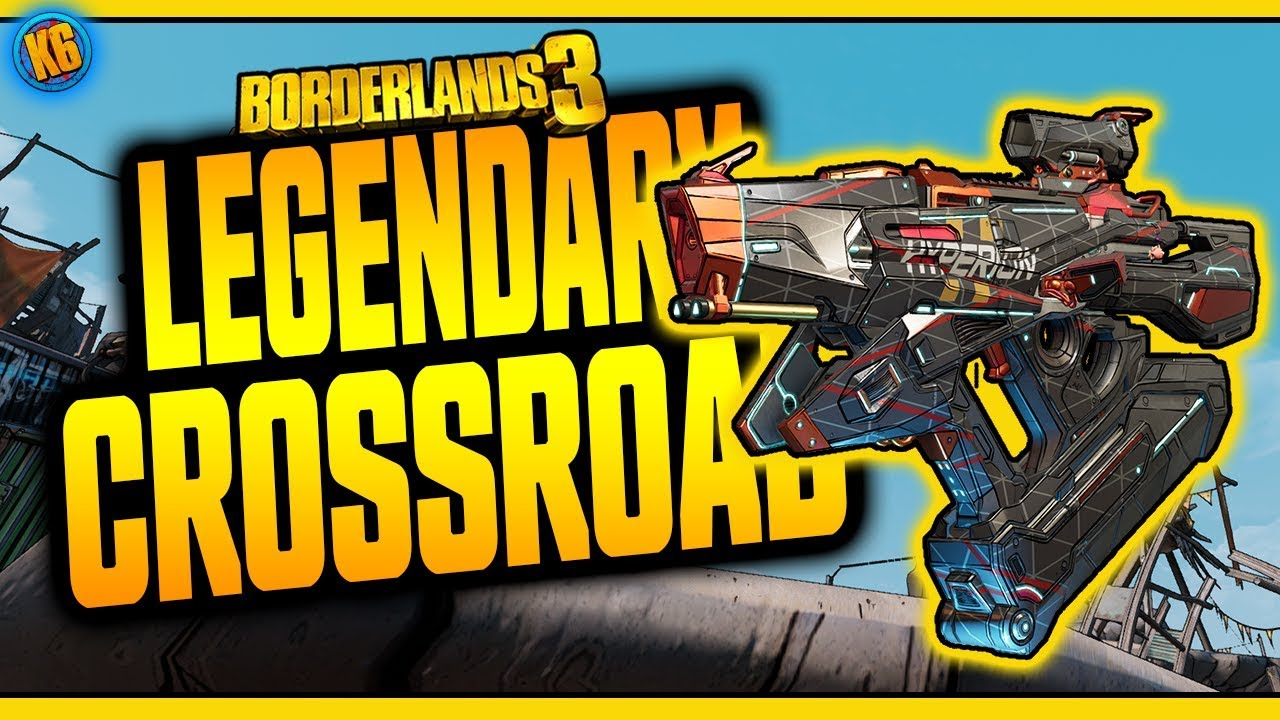 Borderlands 3 | CROSSROAD | Legendary Weapon Review thumbnail