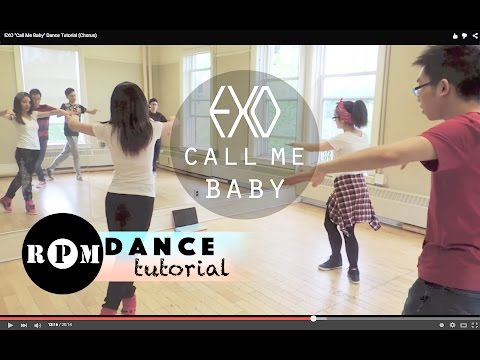 EXO Call Me Baby Dance Tutorial (Chorus)