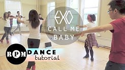 "EXO ""Call Me Baby"" Dance Tutorial (Chorus)"