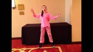 Kendall Vertes singing Mackenzie interrupting