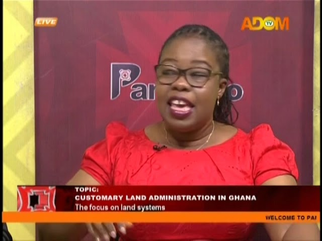 Customary Land Administration In Ghana - Pampaso on Adom TV (22-1-19)