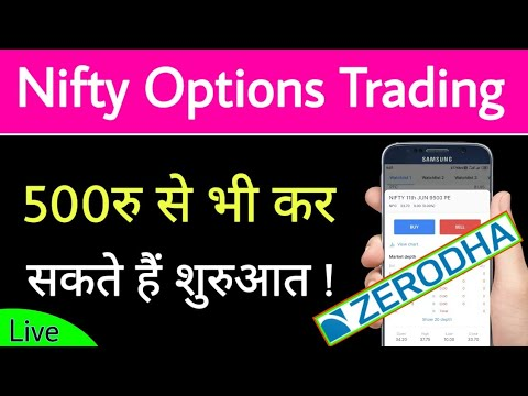 How to trade option strategies in zerodha
