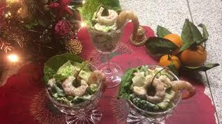Салат «Морской». Салат с морепродуктами под соусом «1000 островов» на новогодний стол 2019