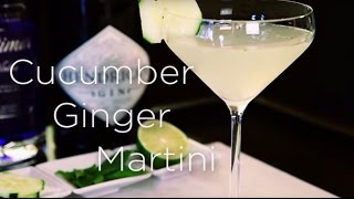 Beverly Wilshire, Beverly Hills (a Four Seasons Hotel) - Cucumber Ginger Martini
