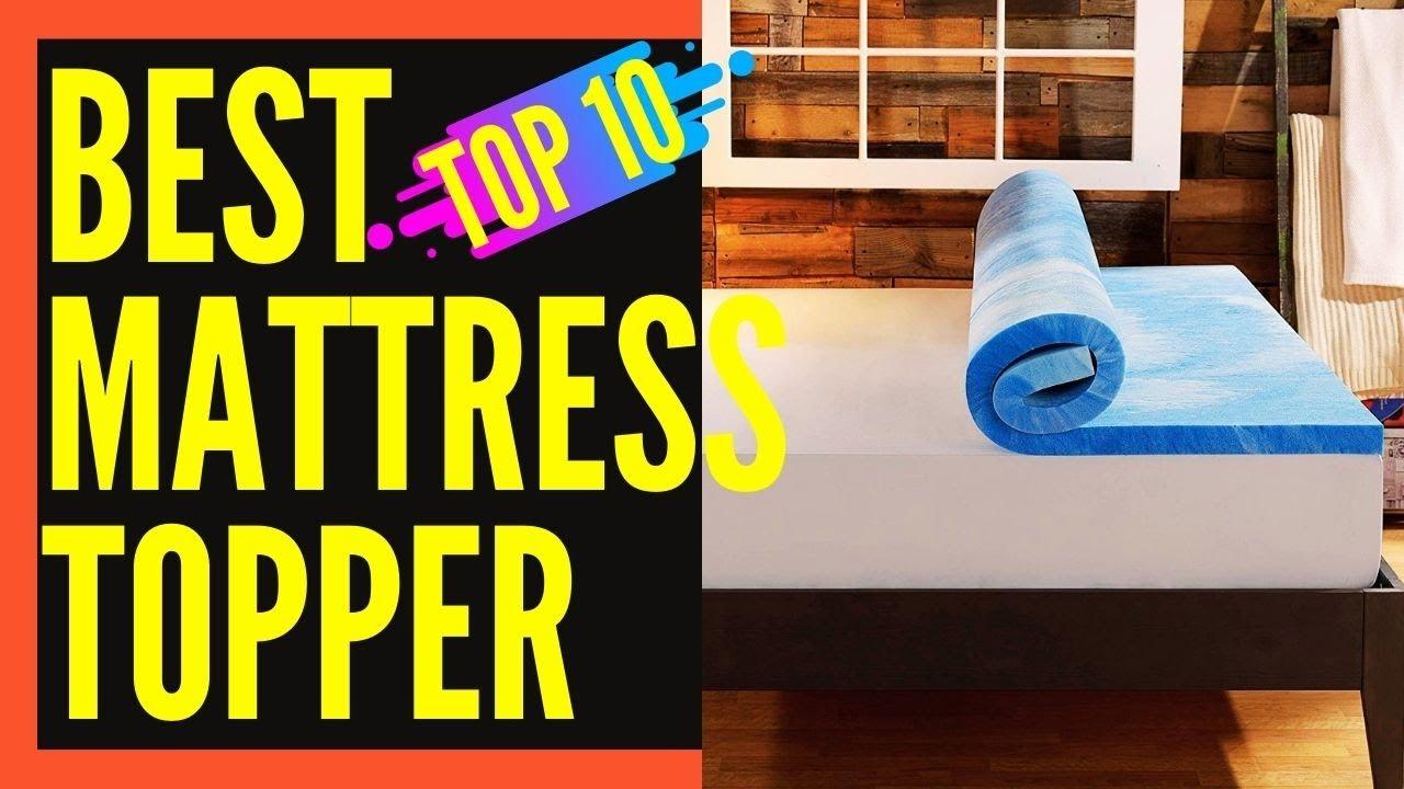 buy online 6d8a0 20928 Best Mattress Topper for Back Pain, Side Sleepers || Best Mattress Topper  Reviews
