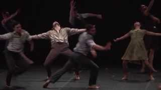 """Harry"" (Excerpt)  created by Barak Marshall for Les Ballets Jazz de Montreal"