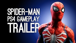 Spider-Man PS4 Trailer: Spiderman Gameplay Trailer at E3 2018