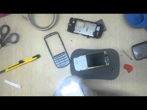 Nokia asha 300 Disassembly & Assembly - Digitizer Screen Case Replacement Repair