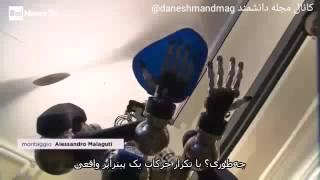 La pizza la prepara il robot (in Italian and Persian) - Daneshmand - June 2016