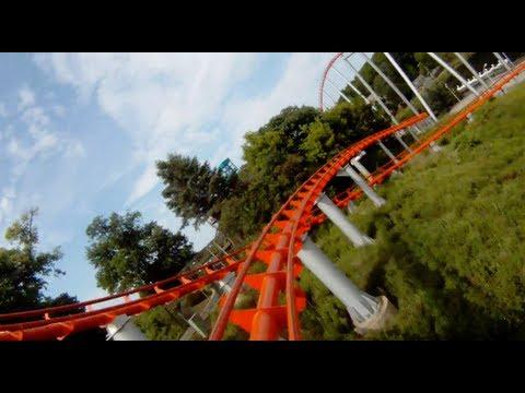 Steel Force POV Front Seat View Dorney Park Roller Coaster