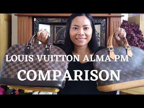 louis-vuitton-alma-pm-comparison-|-monogram-|-damier-ebene-|-epi-leather
