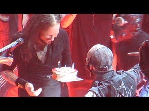 Jonathan Davis' Birthday Surprise! (Glasgow, Scotland 18.1.15)