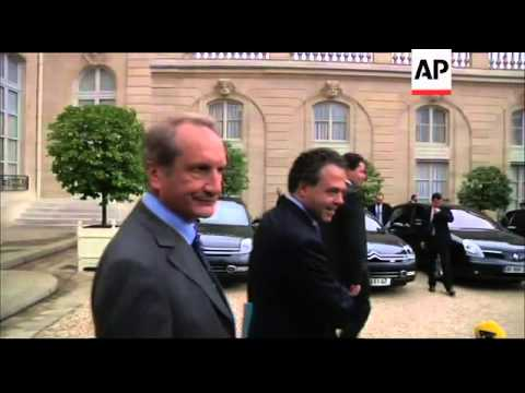 Last cabinet meeting of Sarkozy's five-year term