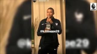 Bizutage Musical pour Kylian Mbappé en équipe de France