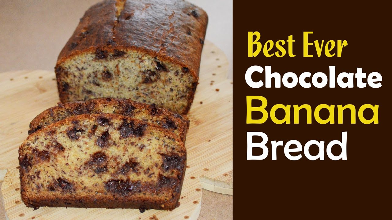 How to make banana bread with chocolate easy banana bread recipe how to make banana bread with chocolate easy banana bread recipe forumfinder Image collections