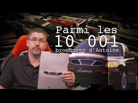 La Daewoo Leganza 1999 - Les 10 001 Brochures D'Antoine - E92