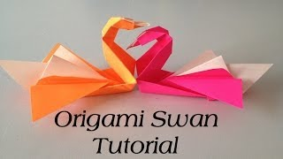 Origami Swan Tutorial (intermediate)  L Jasminestarler