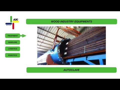 The A2C ranges of equipment for the wood industry