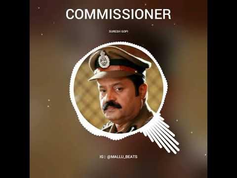 Commissioner Bgm | Suresh Gopi Bgm
