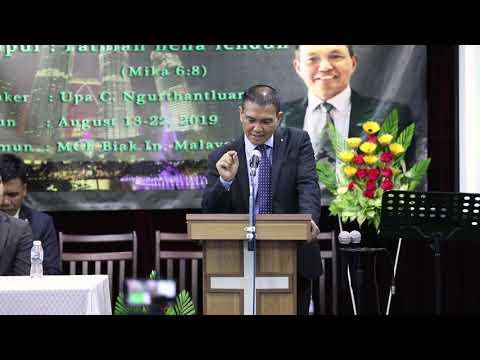 Upa C. Ngurthantluanga (Mizo sermon ) I
