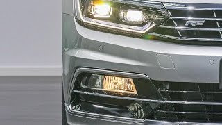 Volkswagen Passat B8 Светодиодные фары ближнего и дальнего света и работа Dynamic Light Assist(Подробная информация: Телефоны: (061)213-74-00 (067)634-66-38 http://sollyplus.zp.ua/kontakt/managers.html http://vk.com/id22454855 ..., 2014-11-13T12:40:41.000Z)