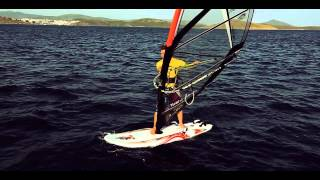 Intermediate Windsurfing- The Heli Tack