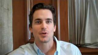 White Collar star Matt Bomer primes us for Season 2.mp4