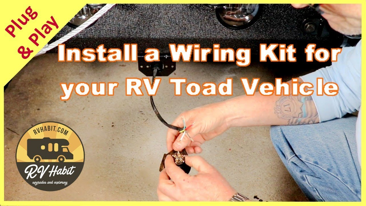 medium resolution of jeep towed vehicle wiring charge line install with hopkins rv toad 56200 and roadmaster charge kit