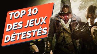 TOP 10 DES JEUX LES PLUS DÉTESTÉS
