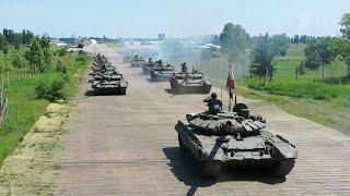 В Воронеже состоялся персональный парад для ветерана Великой Отечественной войны.