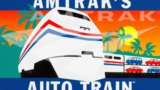 Amtrak Autotrain Motorcycle Ride Day 1 The Road to Sanford Florida