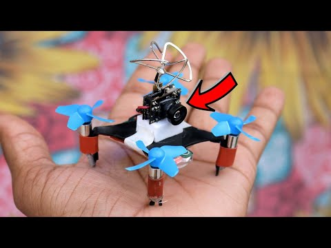 how-to-make-drone-with-camera-at-home-(-quadcopter)-easy