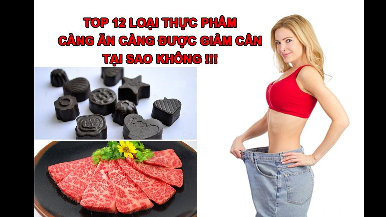 Top 12 thực phẩm càng ăn càng giảm cân