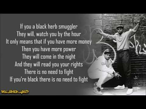 Download Boogie Down Productions - 30 Cops Or More (Lyrics)