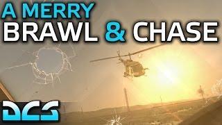 A Merry Brawl & Chase - DCS Huey